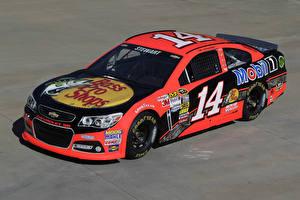 Фотографии Chevrolet Тюнинг Розовые 2013-17 SS NASCAR Sprint Cup Series