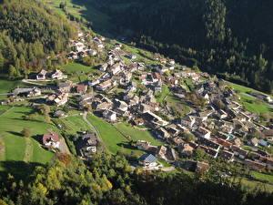 Фотографии Дома Италия Деревня Сверху Village Of Selva, South Tyrol, Val Gardena
