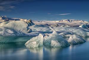 Фотографии Исландия Побережье Льда Природа