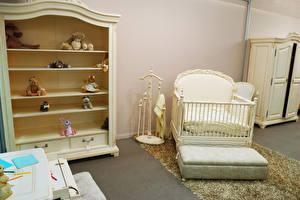 Фотография Интерьер Детская комната Игрушка Кровате