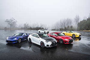 Фотография Lexus Много Мокрые автомобиль