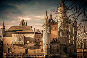 Фото Нидерланды Замок Heeswijk Castle город