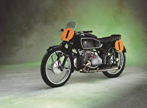 Обои Винтаж БМВ Черных 1939 RS 500 Kompressor (Type 255) Мотоциклы