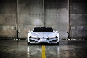Картинки Белый Спереди 2018 Milan automobile GMBH Автомобили