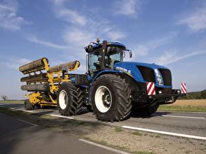 Фото Сельскохозяйственная техника Трактор 2015-19 New Holland T9.565