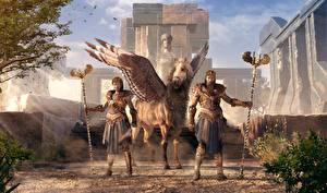 Картинка Assassin's Creed Odyssey Пегас 3D_Графика