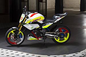 Фото BMW - Мотоциклы Тюнинг Сбоку 2015 Concept Stunt G 310 Мотоциклы
