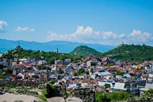 Картинка Болгария Здания Холм Plovdiv