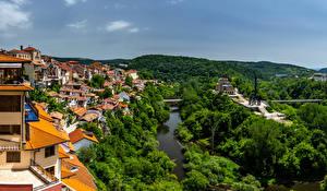 Фото Болгария Здания Речка Tirnovo