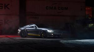 Фото Форд Серая Mustang GT 700hp 2019 by Dennis Ardel