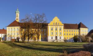 Картинка Германия Храмы Монастырь Kloster Maria Medingen