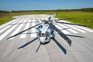 Фотография Вертолеты Американский Sikorsky CH-53K King Stallion US Marine Corps Авиация