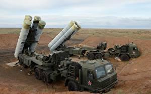 Фотографии Ракетные установки Русские S-400