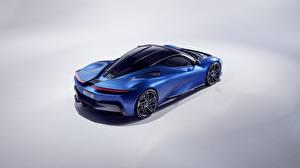 Фотографии Pininfarina Синяя 2019 Battista авто