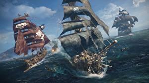 Фото Корабли Парусные Skull and Bones E3 2018 Игры 3D_Графика