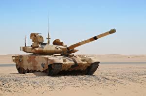 Фотография Танк Пустыни Русские T-90MC