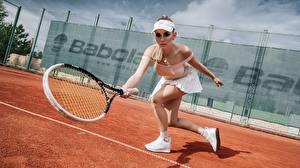 Фото Теннис Кепке Katrin Sarkozy, Anton Harisov спортивная Девушки
