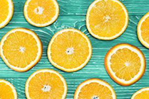 Фото Текстура Апельсин Нарезанные продукты Доски