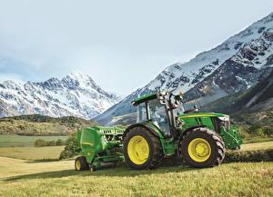 Картинка Сельскохозяйственная техника Тракторы 2016-19 John Deere 5125R