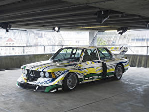 Картинка BMW Ретро Стайлинг 1977 320i Turbo Group 5 Art Car by Roy Lichtenstein Автомобили