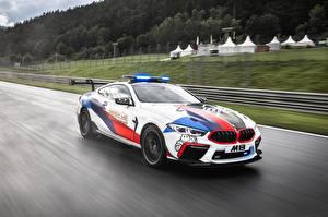 Картинка BMW Тюнинг Едущая MotoGP M8 F92 Автомобили