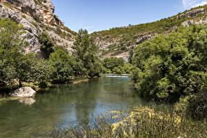 Картинки Хорватия Парк Озеро Krka National Park Природа