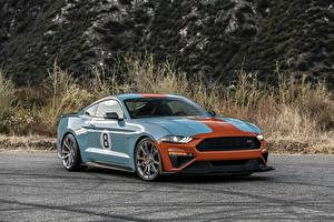 Картинки Ford Mustang Roush Performance Stage 3 Автомобили