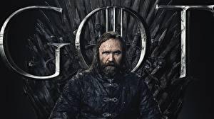 Картинка Игра престолов (телесериал) Мужчины Бородой Троне Rory McCann, Sandor Clegane Hound