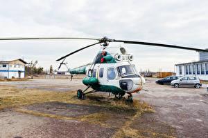 Фото Вертолет Полицейский Авиация