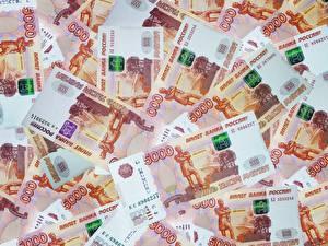Картинки Деньги Купюры Рубли Текстура 5000
