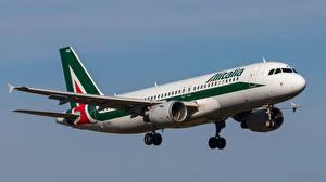 Фото Пассажирские Самолеты Эйрбас Полет A320-214 Авиация