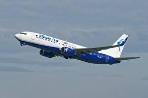 Картинка Пассажирские Самолеты Боинг Blue Air polish airlines