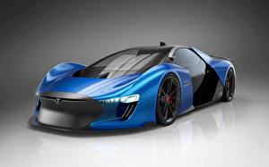 Фотография Tesla Motors 2018, Model EXP автомобиль