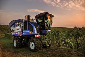 Картинка Сельскохозяйственная техника Поля 2018-19 New Holland Braud 9070L