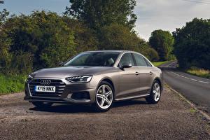 Обои Audi 2019 A4 35 TFSI Sport Автомобили картинки