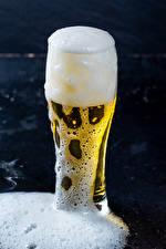 Картинка Пиво Стакане Пеной Продукты питания