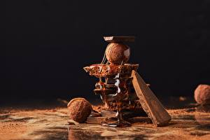Обои Шоколад Конфеты Мед Какао порошок Еда