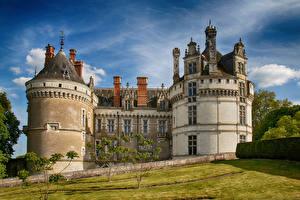Картинка Франция Замки Chateau Du Lude город
