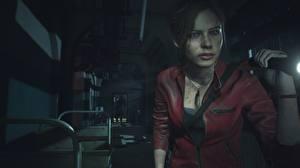 Обои Resident Evil 2 2019 Claire redfield Игры Девушки 3D_Графика