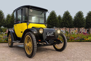 Фотографии Ретро 1907 Detroit Electric Автомобили