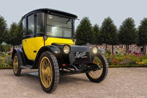 Фотографии Ретро 1907 Detroit Electric Автомобили