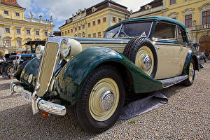 Обои для рабочего стола Ретро Металлик 1939 Horch 930 V Автомобили картинки