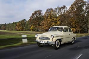 Фото Шкода Винтаж Едущий Octavia 1959-1964 авто