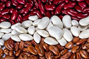 Картинка Текстура Много Разноцветные Beans Пища