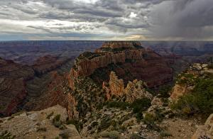 Обои США Парк Каньон Grand Canyon National Park, Arizona Природа