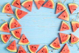 Картинка Арбузы Часть Шаблон поздравительной открытки Пища