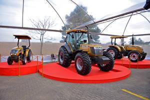 Картинка Сельскохозяйственная техника Трактора Три Agrale 4100.4 Biodiesel 50 Anos , Agrale BX 6180 Cabinado 50 Anos , Agrale 5075.4 50 Anos