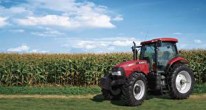 Картинки Сельскохозяйственная техника Поля Тракторы 2014-19 Case IH Puma 155
