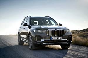 Фото BMW Серый Металлик Едущий 2019 X7 G07 авто