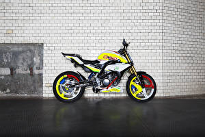 Картинка BMW - Мотоциклы Сбоку 2015 Concept Stunt G 310